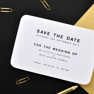 classic save the dates