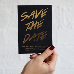 stylish save the dates