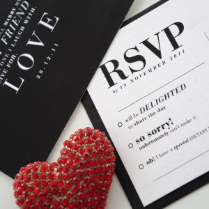 ypography Wedding Stationery